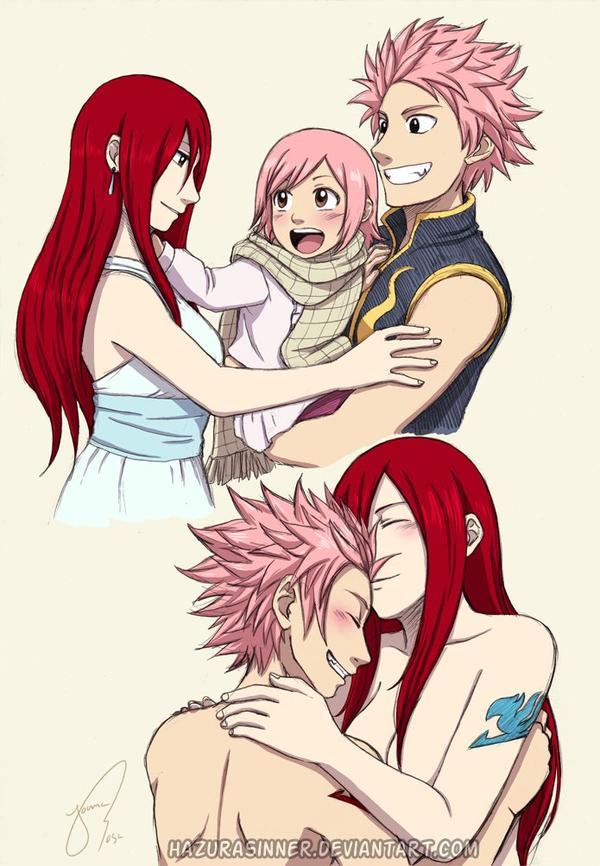 Natsu x Erza !!! Mon couple préférer !!!! X3
