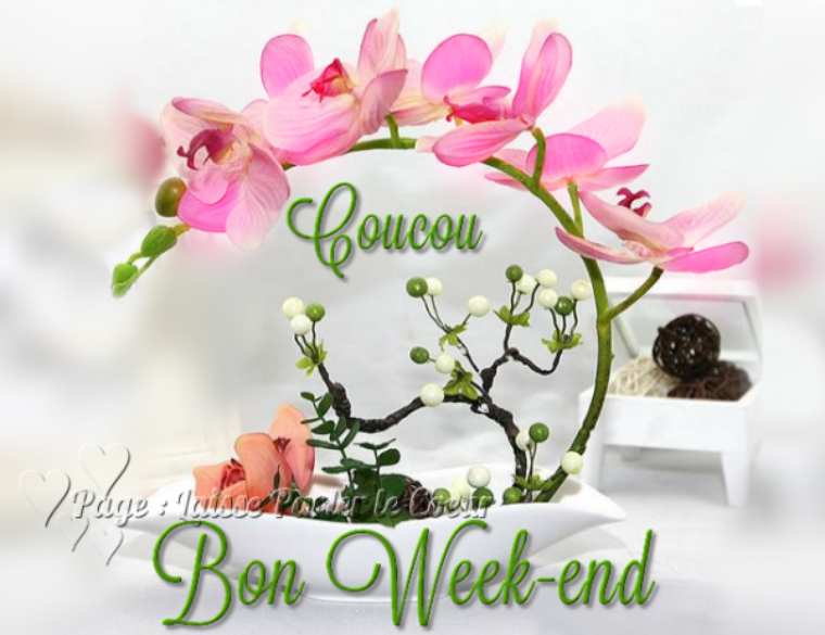 (l) (l) BON WEEK-END D'AVRIL (l) (l)