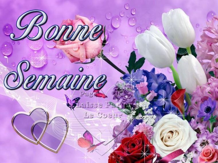 (l) (l) TRES BONNE SEMAINE A VOUS MES AMIS(ES) (l) (l)