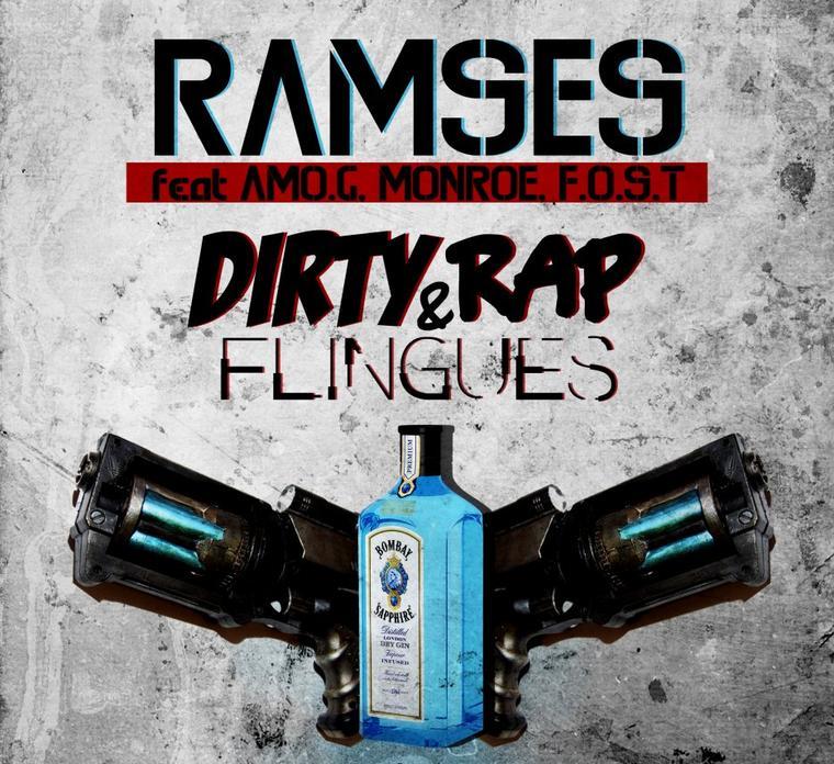 GANGSTAPE Shooté O Son S.O.S / D.R.F (Dirty Rap & Flingue) feat AMO.G F.O.S.T MONROE (2012)