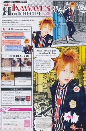 Pas beaucoup de news + Image de Miku+Image de KanonXKanon+ Image de Reno + Images d'Alice Nine.