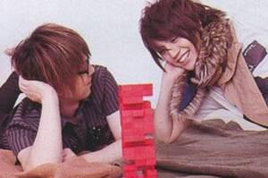 Images de Nao (Alice Nine) , de Shou (Alice Nine) , de Ruki (the GazettE) et de Jo (Killerpilze).