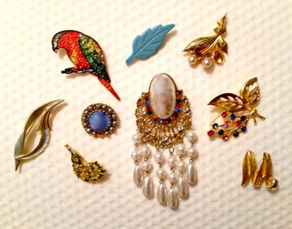 ♥ Broches anciennes - collection d'une Amie ♥
