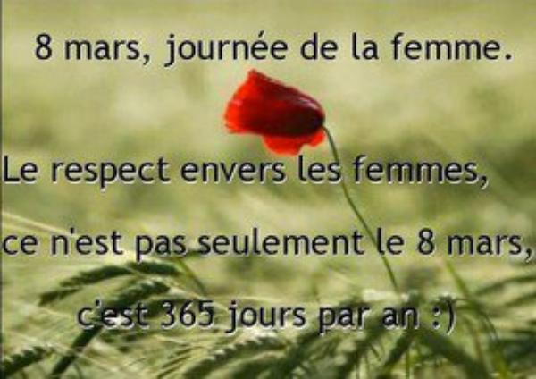 ♥ Journée de la Femme ♥