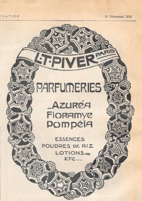 $)   Pivert L.T. - Pubs -     L'ILLUSTRATION   datant du 16 décembre 1916 et 5 juillet 1919   $)