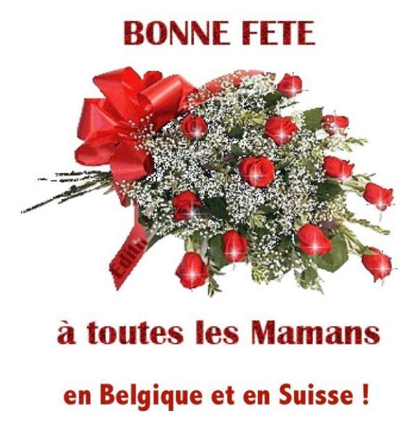 ♥ 13 mai 2018 ♥ Bonne Fête à toutes les Mamans sur Skyrock Belge et Suisse ♥