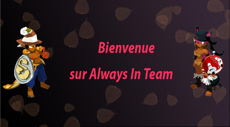 Always in team