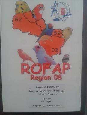 Résultats du Régional de GONDECOURT 2015