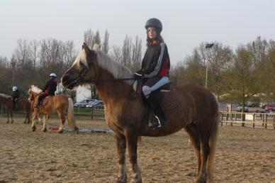 L'équitation, le bonheur .