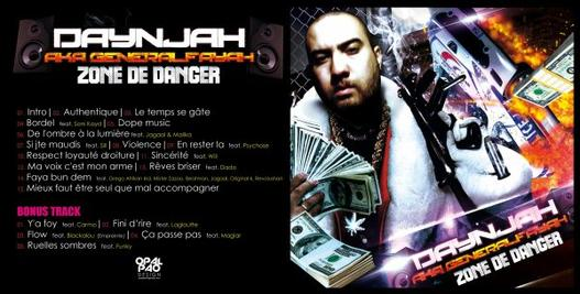 "Retrouve-moi en feat. avec Daynjah - mixtape de daynjah aka général fayah "" zone de danger """