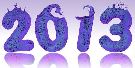 Bonne année 2013!!! :
