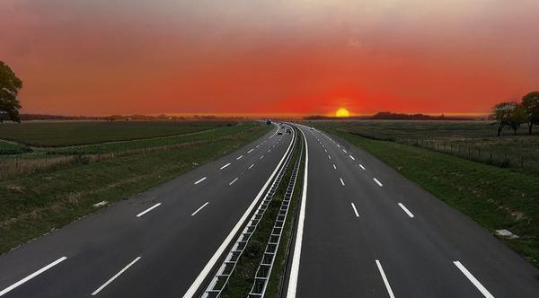 L'autoroute de la vie.