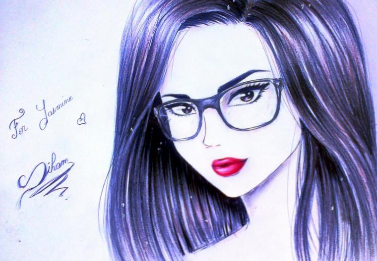 ( dessin fait par Siham Bouyerbou )