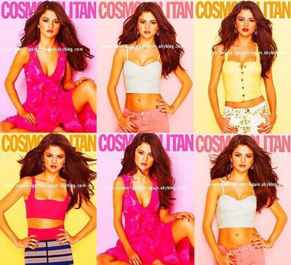 . Un nouveau photoshoot pour le magazine Cosmopolitan que Selena a récemment réalisé, pour le moment c'est juste un apperçu. . Qu'en pensez-vous ?  .