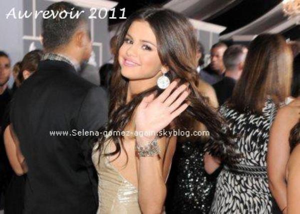 Selena Gomez est satisfaite de l'année qu'elle vient de passe, et n'a pas de résolutions pour l'année prochaine.