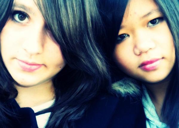 Mélissa & Céline : Une rancontre INOUBLIABLE ! ♥.