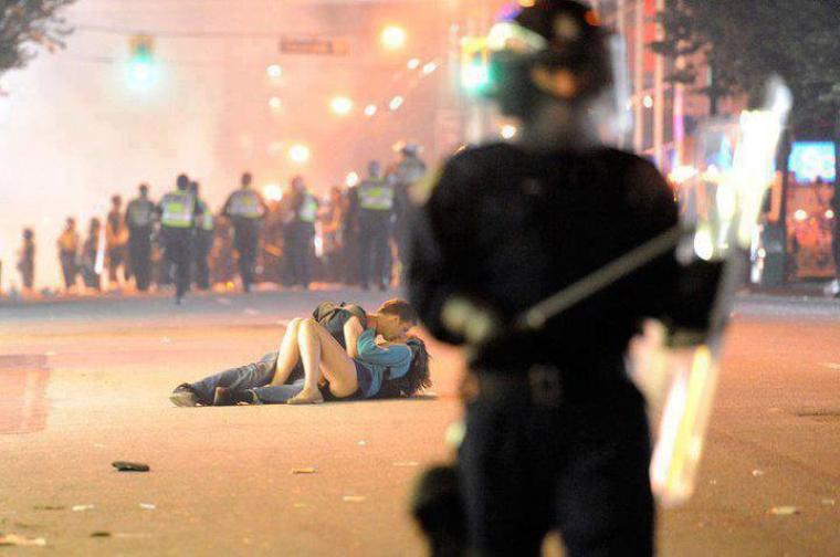 Faites l'amour, pas la guerre !