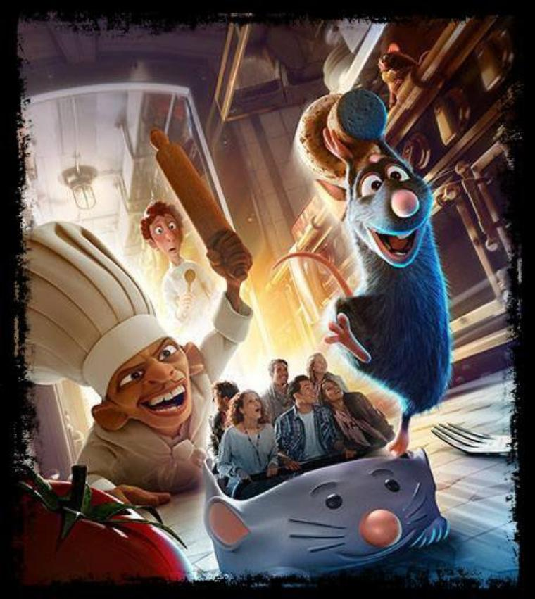 La confirmation de l'attraction Ratatouille pour 2014! Le point.
