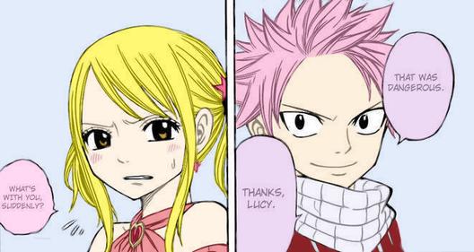 Lucy & Natsu <3