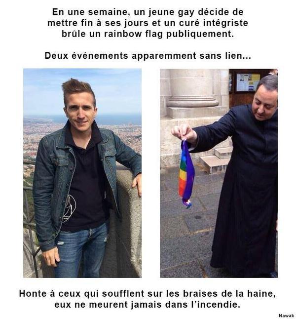 France  : coup de gueule contre la haine insidieuse propagées par les obscurantistes religieux. Repose en Paix, Peter.
