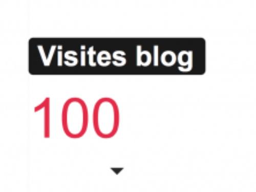 Merci pour mes 100 premiers visiteurs