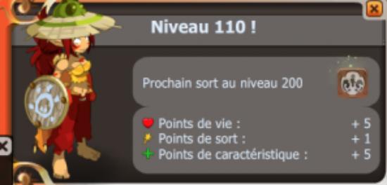 UP lvl 110