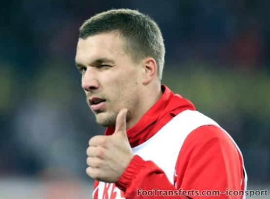 Podolski prolonge à Cologne
