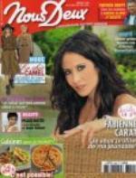 Interview de Fabienne Carat dans le Magazine Nous Deux !!!<3