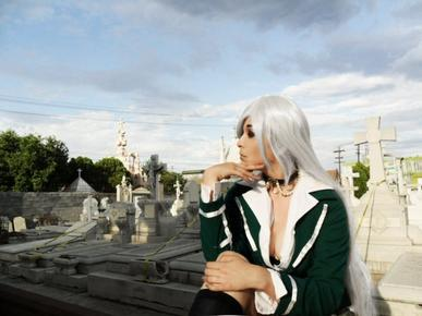 Rosario+Vampire : Moka Akashiya (vampire) partie 2