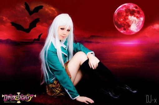 Rosario+Vampire : Moka Akashiya (vampire) partie 3