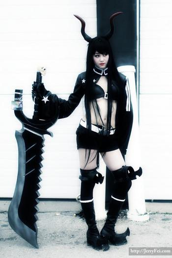 Black Rock Shooter : Black Gold Saw