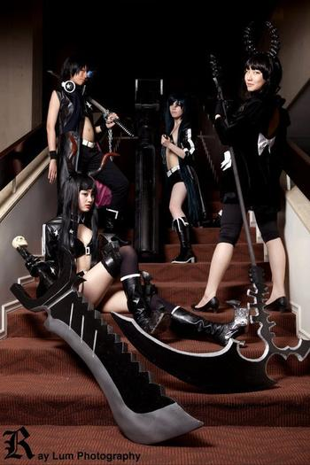 Black Rock Shooter : Groupe