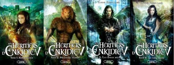 Fiche de lecture: Les Hertiers d'Enkidiev
