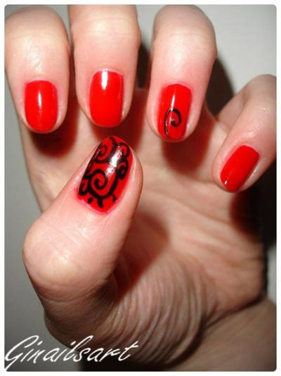 Nail art : Tout en spiral