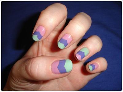 Nail art : Pastel