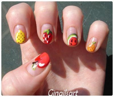 Nail art : So Fresh!
