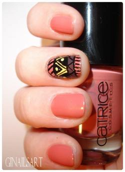 Nail art : Aztèque!