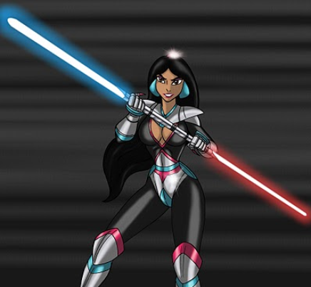 Jasmine Elle aussi du côté obscur de la force