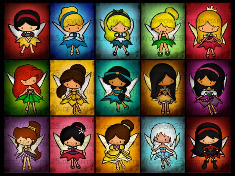pitites fées princesses