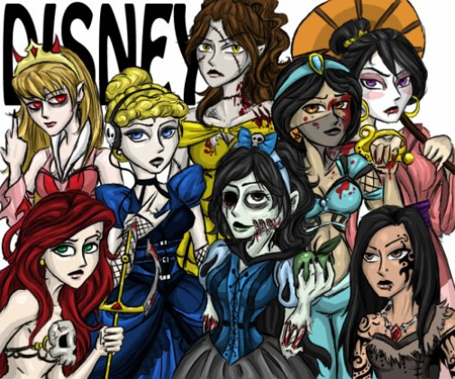 les princesses dark