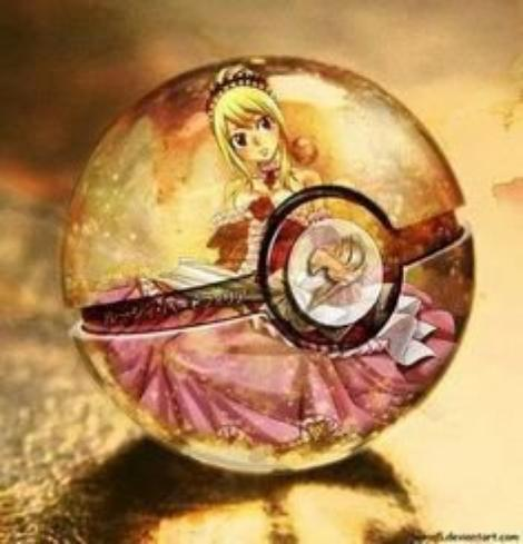 Fairy tail pokéball !