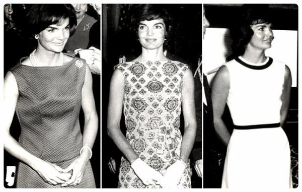 Jackie Kennedy où, le style année 60' à l'état brut