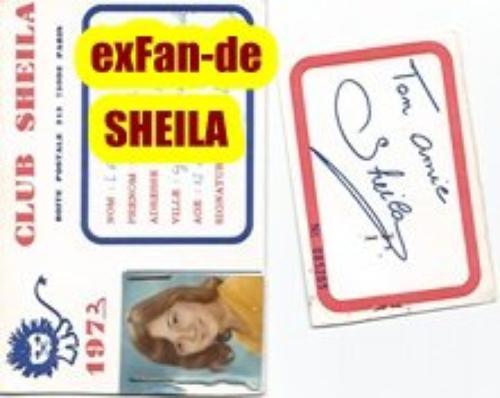 ExFan-de SHEILA j'avais 15ans en 1973....
