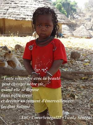 Iwol - Visages d'enfants en citations - Sénégal Oriental
