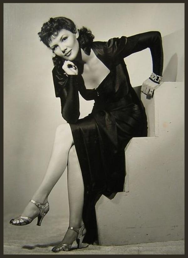 Veda Ann BORG '40-50 (11 Janvier 1915 - 16 Août 1973)