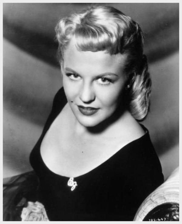 Peggy LEE '40-50 (26 Mai 1920 - 21 Janvier 2002)