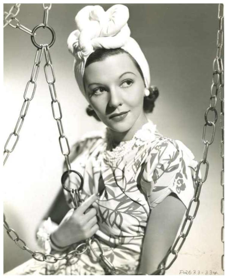 Mary MARTIN '30-40 (1er Décembre 1913 - 3 Novembre 1990)
