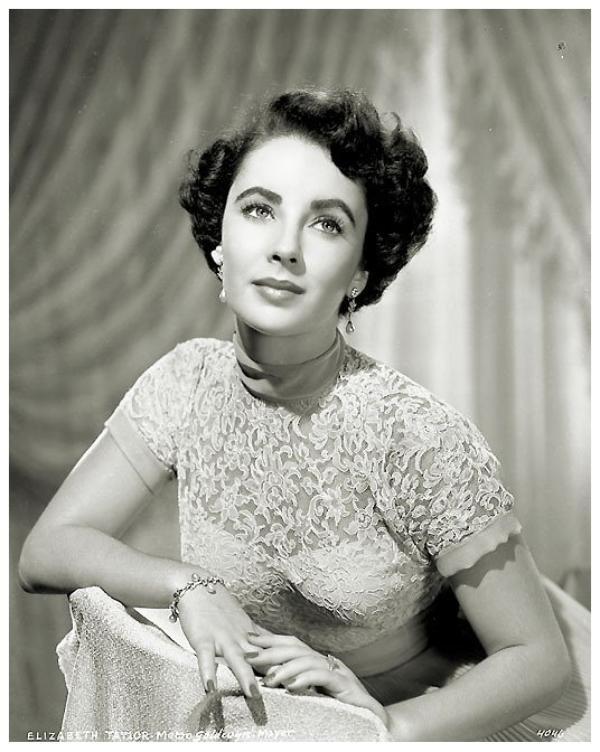 Elizabeth TAYLOR '40-50 (27 Février 1932 - 23 Mars 2011)