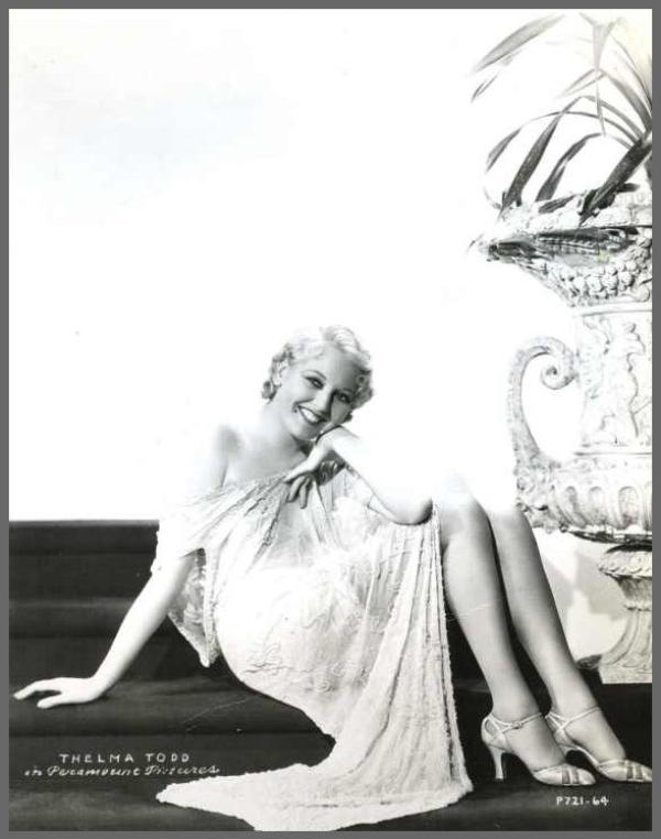 Thelma TODD '20-30 (29 Juillet 1906 - 6 Décembre 1935)
