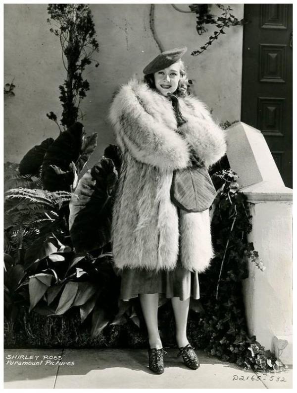 Shirley ROSS '30-40 (7 Janvier 1913 - 9 Mars 1975)